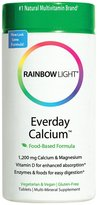 Rainbow Light Everyday Calcium w/ Enzymes Tabs, 120 ct