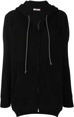 Liska Hooded Cashmere Cardigan