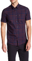 Ben Sherman Slim Fit End On End Plaid Shirt