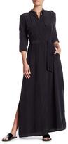 Equipment Major Maxi Silk Shirt Dress