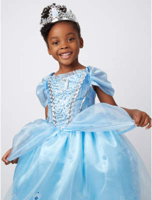 Disney George Princess Cinderella Fancy Dress Costume