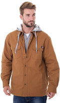 Dickies Big & Tall Mock-Layer Hooded Jacket