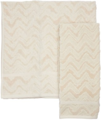Missoni Set Of 2 Rex Cotton Towels