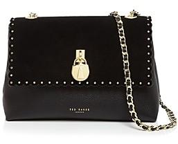 Ted Baker Margiat Scalloped Mini Leather Crossbody Bag