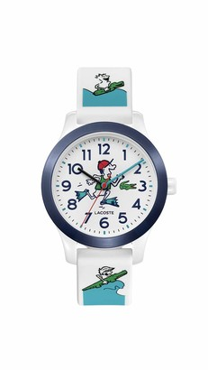Lacoste Kids' Lacoste.12.12 Quartz Watch with Silicone Strap
