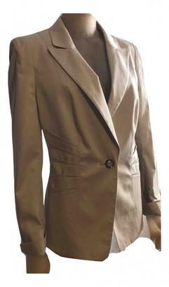 Basler Beige Cotton Jacket for Women