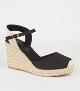 New Look Canvas Beaded Espadrille Wedges
