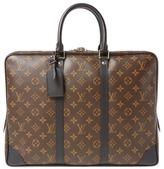 Louis Vuitton Monogram Macassar Porte Documents