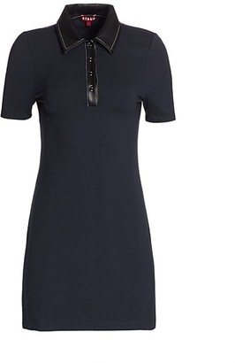 STAUD Jay Polo Mini Dress
