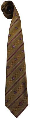 Fendi Gold Silk Ties