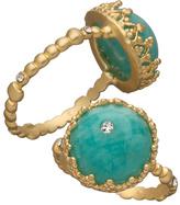 Indulgems Amazonite Cabochon Ring