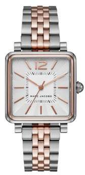 Marc Jacobs Vic Two-Tone Stainless Steel Bracelet Watch