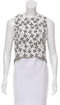 Tanya Taylor Silk Printed Top