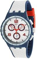 Swatch Men's Humpy Bumpy SUSN411 Rubber Swiss Quartz Watch