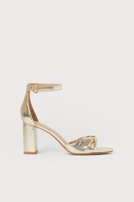 H&M Sandals - Gold