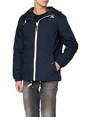 Solid !Solid Men's 6169542 Blouson Long Sleeve Jacket - Blue - Large