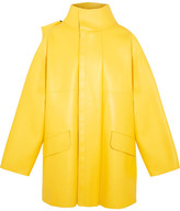 Balenciaga Oversized Leather Jacket - Yellow