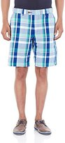 French Connection Men's Madras Check Kent Short