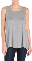 Cable & Gauge Mesh-Trimmed Tank Top