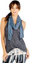 Saint Grace Rayon Jersey Scarf in Night 4058575940