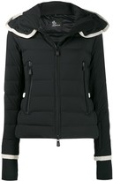 Moncler fitted puffer coat