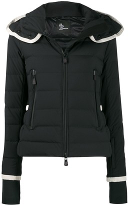 MONCLER GRENOBLE Fitted Puffer Coat
