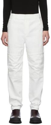 Ambush White Front Pocket Jeans