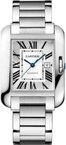 Cartier Tank Anglaise Stainless Steel Large Watch