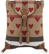 Burberry Chiltern canvas backpack