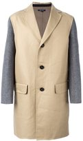 Sofie D'hoore 'Cliff' single breasted coat - men - Wool - 48