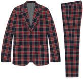 Gucci Heritage tartan suit