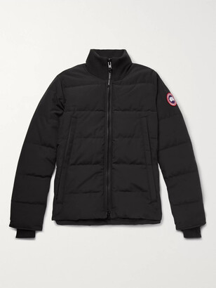 Canada Goose Woolford Slim-Fit Quilted Arctic Tech Down Jacket - Men - Black