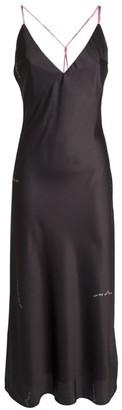Natasha Zinko Contrast Slip Dress
