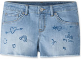 Levi's Doodle Patches Shorty Shorts, Big Girls (7-16)
