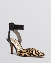 Sam Edelman Pointed Toe D'Orsay Pumps - Okala High Heel