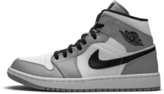 Jordan Air 1 Mid 'Light Smoke Grey' Shoes - 7.5