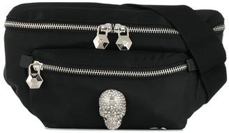 Philipp Plein Crystal Skull belt bag