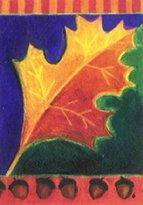 """Flagline.com Leaf Majestic - 28"""" x 40"""" Toland Art Banner"""
