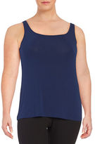 Lord & Taylor Plus Iconic Slimming Tank