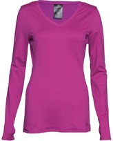 Under Armour Womens ColdGear Fitted V-Neck Top Strobe