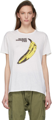 R 13 White The Velvet Underground Edition Boy T-Shirt