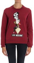 Love Moschino Cotton Blend Sweatshirt