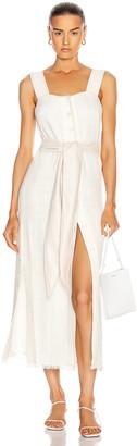 Nanushka Rita Dress in White | FWRD