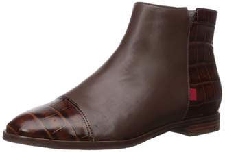Marc Joseph New York Women's Leather Made in Brazil Ankle Zip Up Bootie Boot