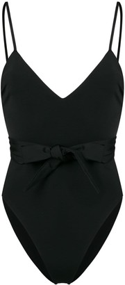 Mara Hoffman bow detail swimsuit