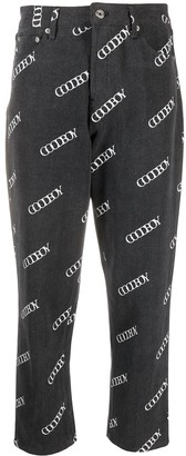 goodboy Logo Cropped Trousers