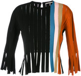 Marco De Vincenzo fringed vertical panel top