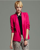 Jacket, Three-Quarter-Sleeve Blazer