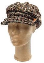 Collection XIIX As Is Boucle Cabby Hat with Stone Jewel Accent