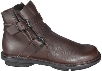 Trippen Double Buckle Strap Boots